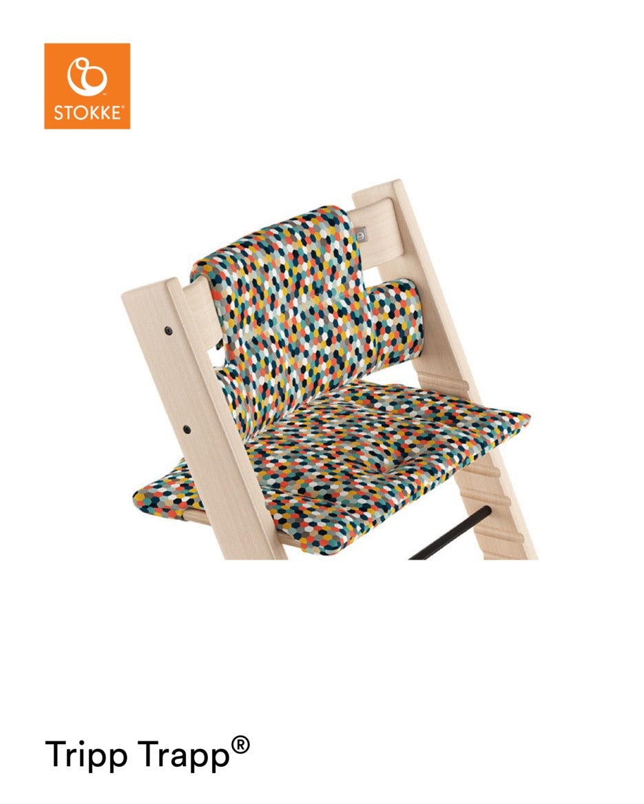 Stokke Tripp Trapp Cushion Honeycomb Happy Ocs