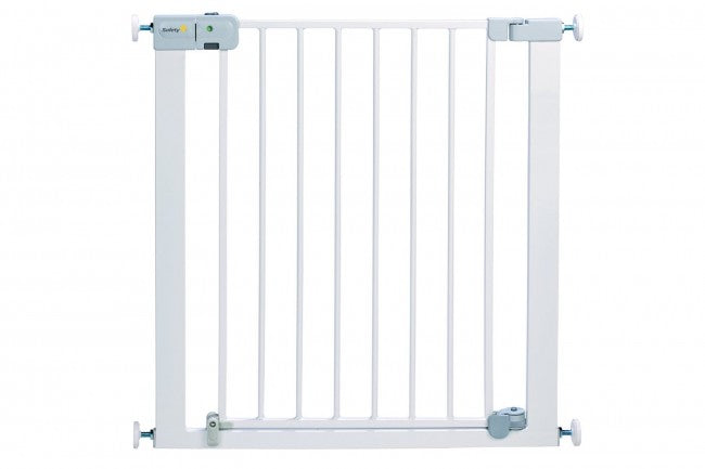 Safety 1st. - Securtech Auto Close Metal Gate White