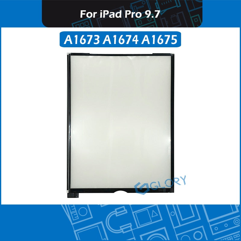 For iPad Pro 9.7 A1673 A1674 A1675 LCD Screen Backlight Sheets Paper LED Display Rear Reflective Sheets