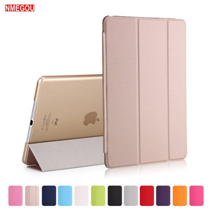 Luxury Tablet Shockproof Smart Leather Stand Case Cover for Apple Ipad Air 9.7 Inch 2017 2018 PU Wake for I Pad 5 IPad5 Coque