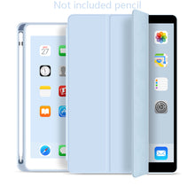 Load image into Gallery viewer, Soft silicone case For iPad mini 5 Smart Case Stand Auto Wake / Sleep With Pencil Holder 2019 7.9 inch A2124 A2125 A2126 A2133