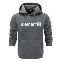 Load image into Gallery viewer, New 2019 Autumn Winter Brand Mens Hoodies Sweatshirts Men High Quality ELEMENT Letter Printing Long Sleeve Fashion Mens Hoodies