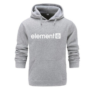 New 2019 Autumn Winter Brand Mens Hoodies Sweatshirts Men High Quality ELEMENT Letter Printing Long Sleeve Fashion Mens Hoodies