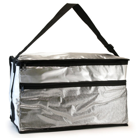 CL601-1 - Family-size Lunch Bag - Sliver/Black