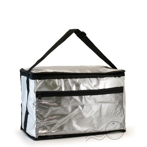 CL601-2 - Large Lunch Bag - Sliver/Black