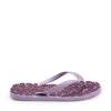 Darling's Unisex Flip Flops Light Purple & Purple