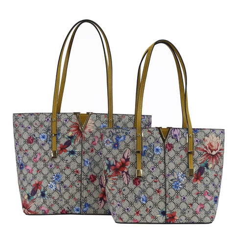 GS-563CMF - Vivid Floral Monogram 2 Bag Set