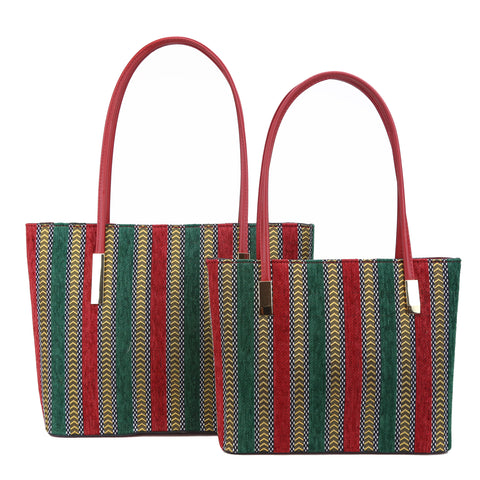 GS-1036ST - Flannel Stripes 2 Bags Set - 4 Colors