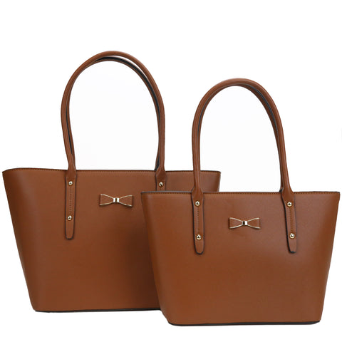 GS-017 - Bowknot Classic 2 Bags Set - 2 Colors