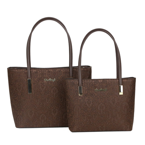 GS-1036JD - Damask 2 Bags Set - 2 Colors