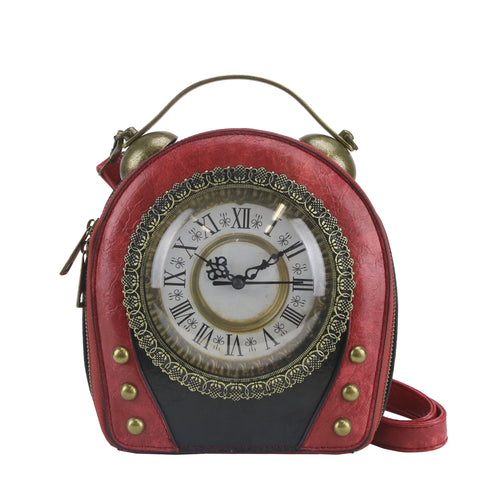 HAM-002 - Odometer Clock Design Handbag - 4 Colors