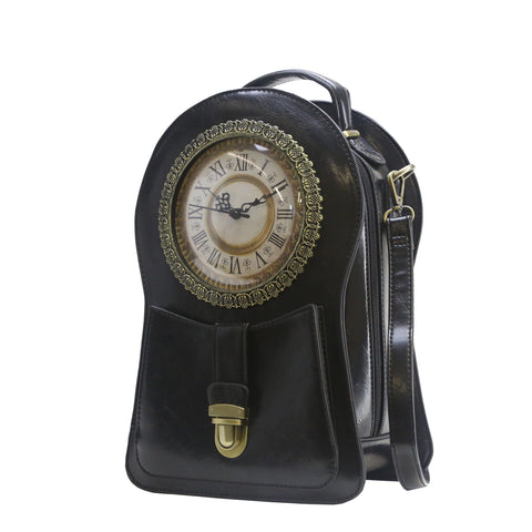 HAM-005 - Clock Design Backpack / Shoulder Bag