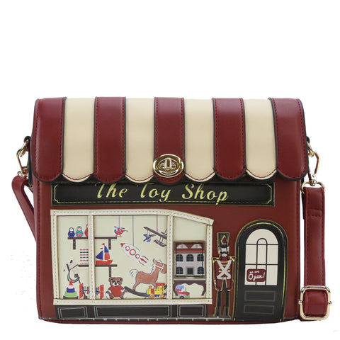 HAM-003 - Music / Toy Shop Design Shoulder Bag - 2 Styles