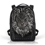 HAM9727 - Lion Backpack - Silver