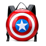 HAM9766 - Captain Shield Backpack - Medium - Black