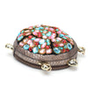 HAM9770 - Turtle Style Clutch - Brown