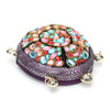 HAM9770 - Turtle Style Clutch - Purple
