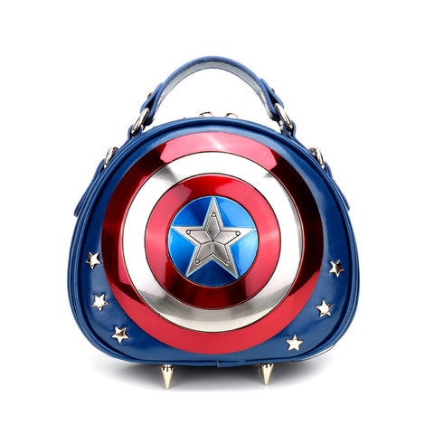 HAM-9775 - Women Captain Shield - Blue