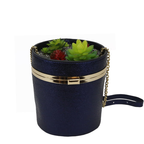 HAM-9906 - Succulent Plant Shoulder Bag