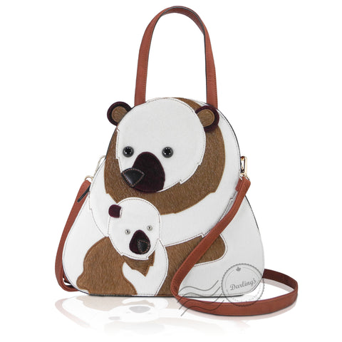 HDA6282 - Bear Handbag - 2 Colors
