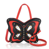 HDA9099 - Butterfly Shoulder bag - Red and Black