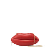 HAM-9793 - Hot Lips Clutch - Red
