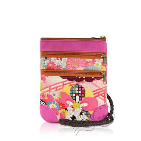 HPD065 - Shoulder Bag fits Mini Tablet - Pink