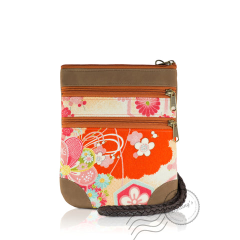 HPD065 - Shoulder Bag fits Mini Tablet - Light Brown