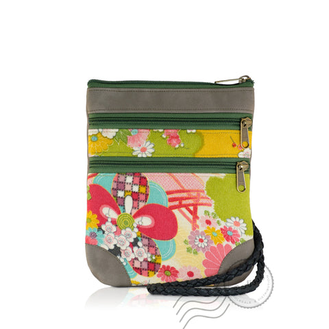 HPD065 - Shoulder Bag fits Mini Tablet - Green