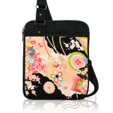 HPD066 - Kimono Tablet Cross-body Bag - Black