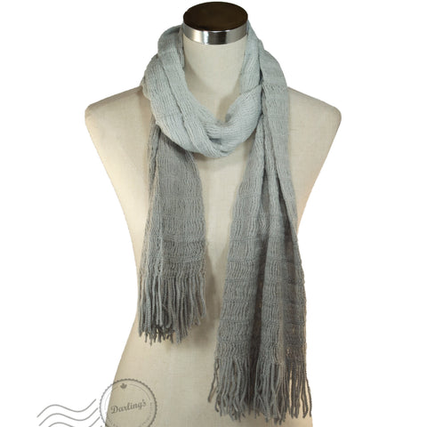 SSY301-03 Scarf Gradient Grey