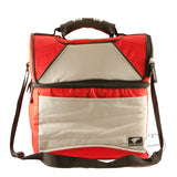 ST026 - Double-deck Large Lunch Bag - Red