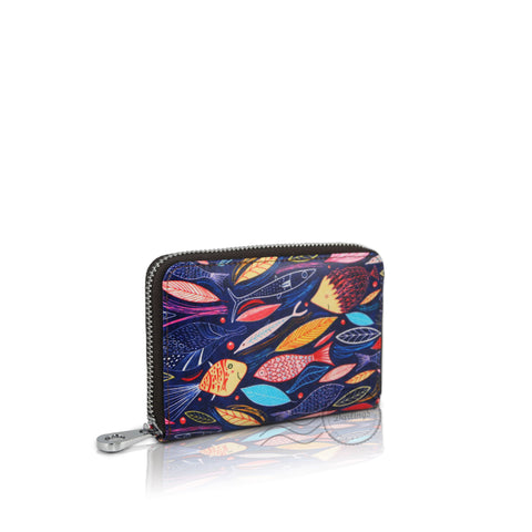 Darling's Leather Wallet - Medium - Fish Style