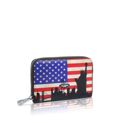 Darling's Leather Wallet - Medium - United States Flag