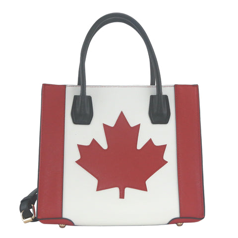 YD-7401 - Darling NEW Canadian Flag Handbag
