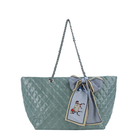 YD-7260 - Darling Classic Quilted Chain Handbag - 7 Colors