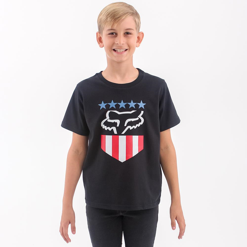 Freedom Shield Boys Ss Tee