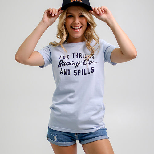 Thrills N Spills Crew Ss Tee - Fox Racing South Africa