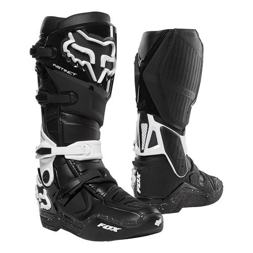 Instinct Boot-Blk Wht - Fox Racing South Africa