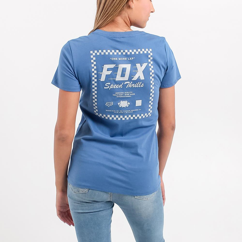 Speed Thrills V Neck Ss Tee