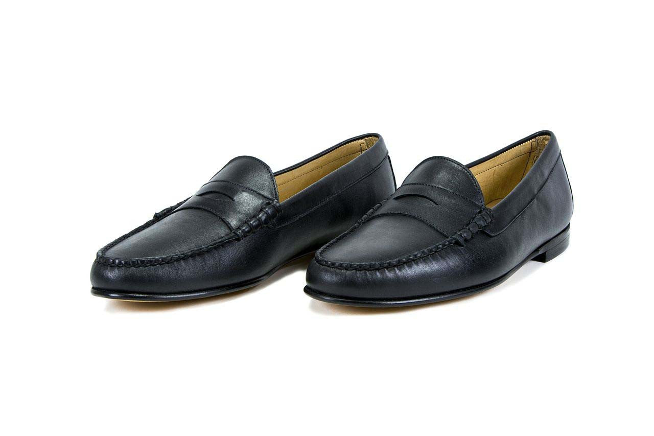 a79241090898 Cromwell Handsewn Full Grain Leather Penny Loafer – Jay Butler
