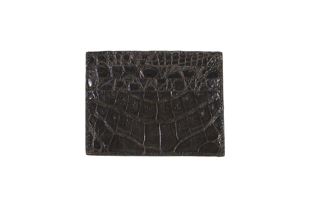 Waverly Crocodile Card Case