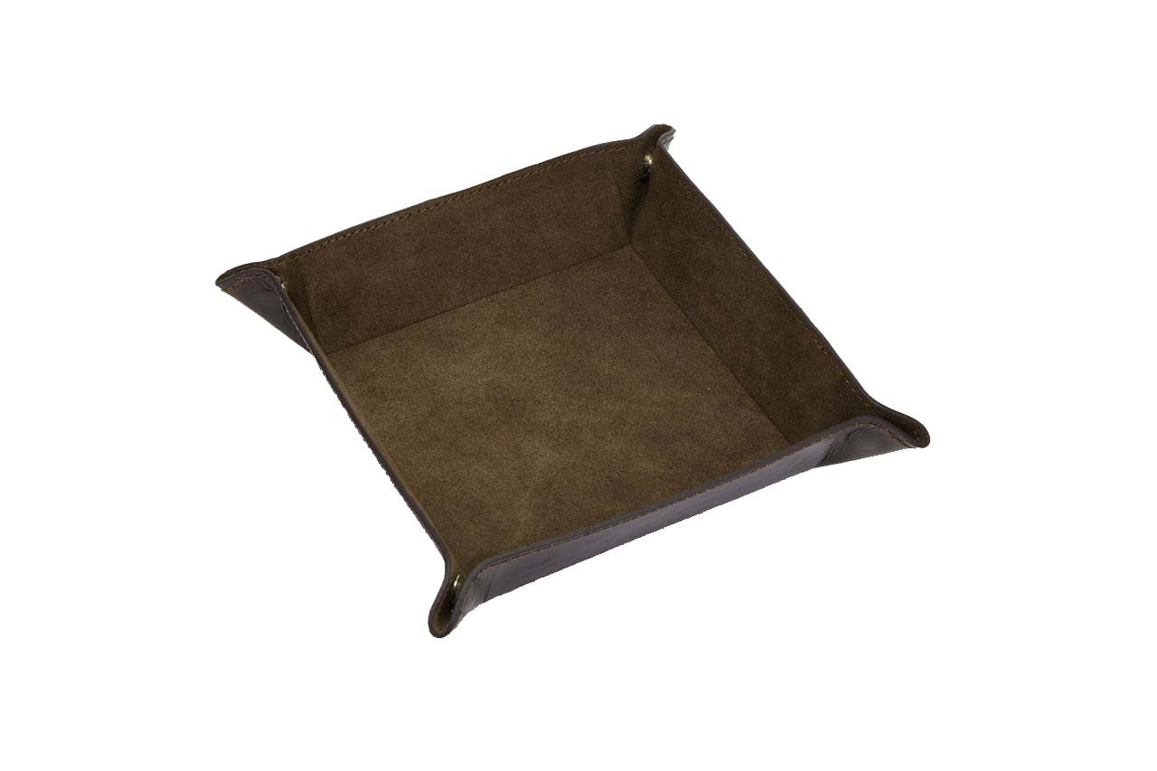Suede Change Tray