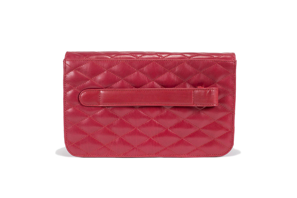 Madeline Quilted Clutch - Medium