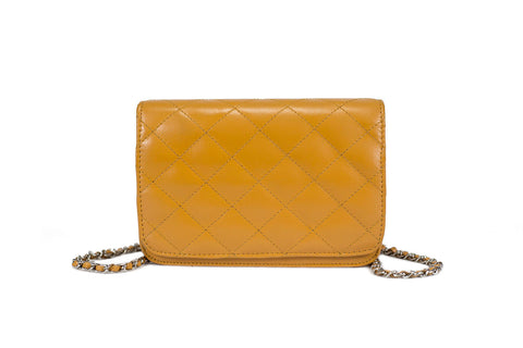 Madeline Quilted Clutch - Small