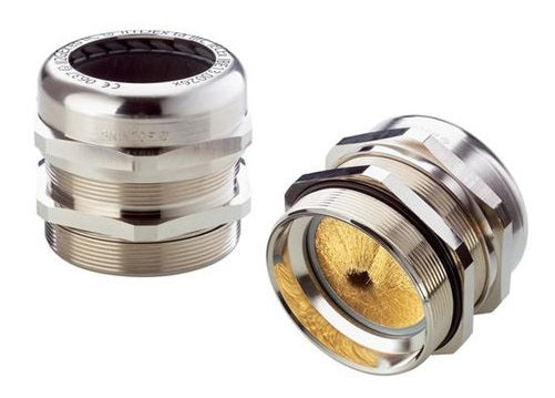 LAPP KABEL LAPP KABEL SKINTOP® MS-M BRUSH Nickle-Plated Brass EMC/Earthing Cable Glands - BNR Industrial