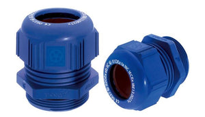 LAPP KABEL SKINTOP® K-M ATEX plus blue / SKINTOP® KR-M ATEX plus blue Explosion-Proof Plastic Cable Glands