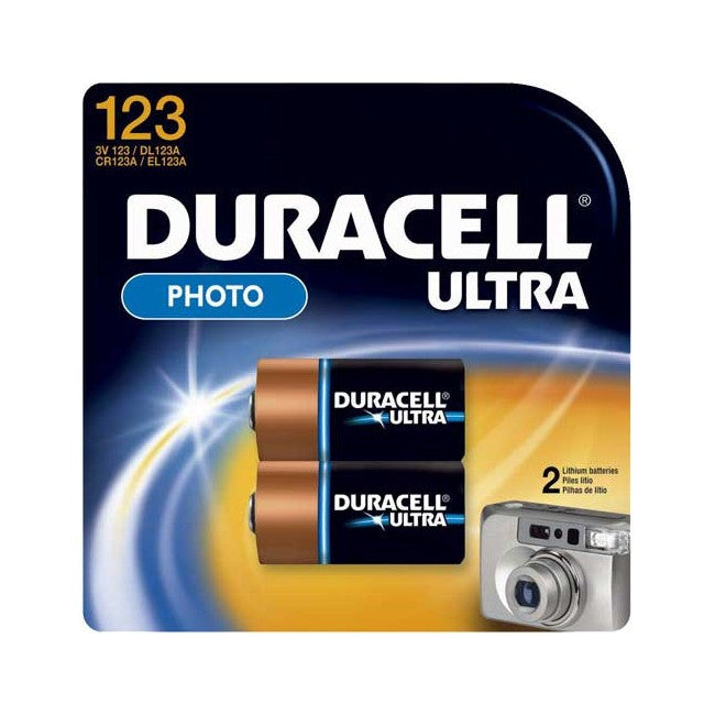Duracell Duracell Ultra CR123 - 2 Pack - BNR Industrial