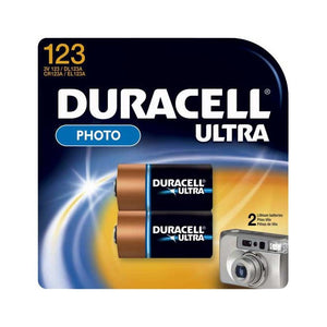 Duracell Ultra CR123 - 2 Pack - BNR Industrial