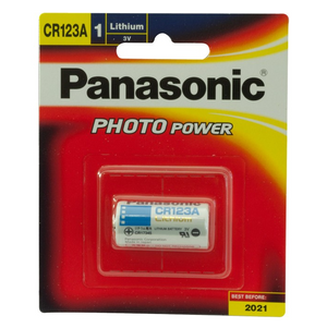 Panasonic CR123A 3V Lithium Battery - BNR Industrial